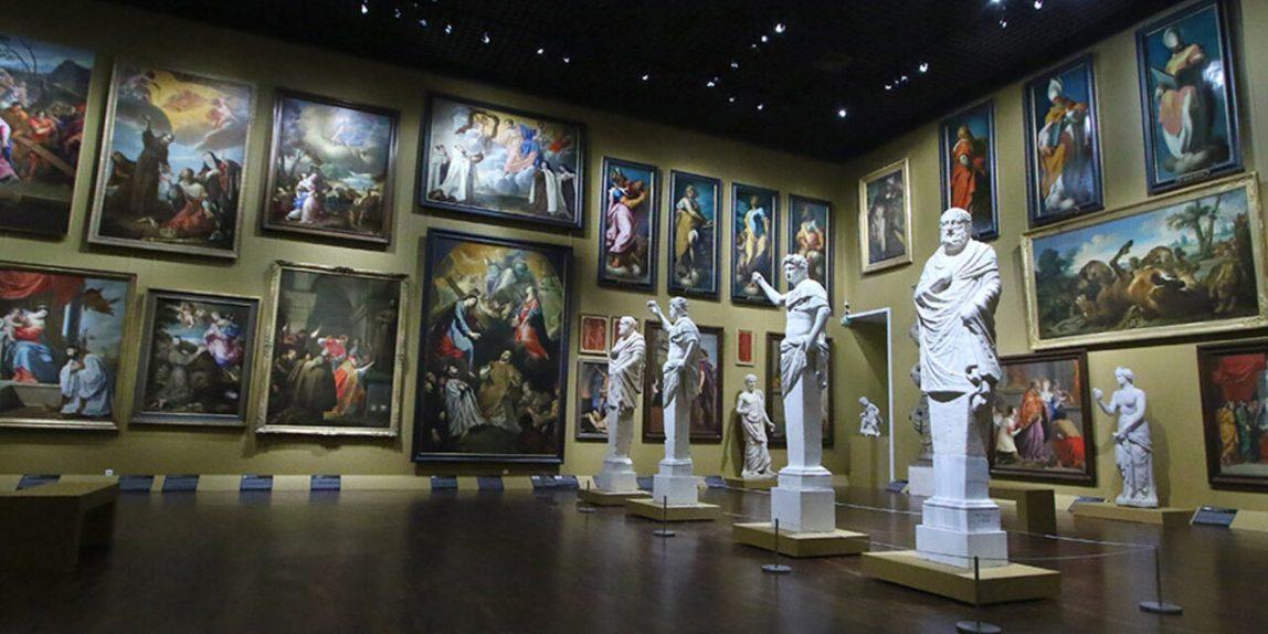 visite d'un musée